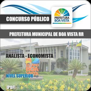Apostila Seletivo Pref Boa Vista RR 2019 Analista Economista