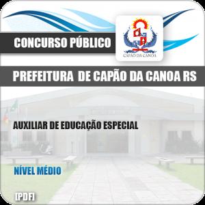 Apostila Pref Capão da Canoa RS 2019 Auxiliar Educação Especial