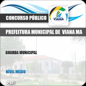 Apostila Concurso Pref de Viana MA 2019 Guarda Municipal