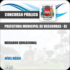 Apostila Concurso Pref Vassouras RJ 2019 Mediador Educacional