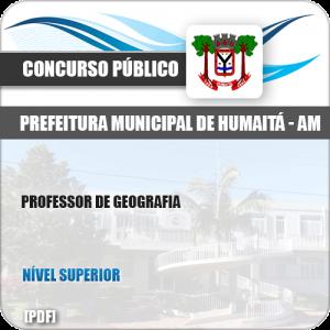 Apostila Concurso Pref Humaitá AM 2019 Professor de Geografia