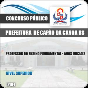 Apostila Pref Capão da Canoa RS 2019 Prof Anos Iniciais
