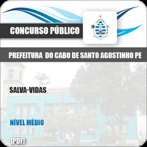 Apostila Pref Cabo Santo Agostinho PE 2019 Salva Vidas