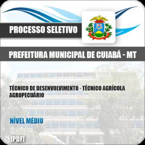 Apostila Pref Cuiabá MT 2019 Tec Desenvolvimento Tec Agrícola