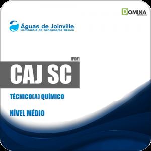 Apostila Concurso CAJ Joinville SC 2019 Técnico Químico