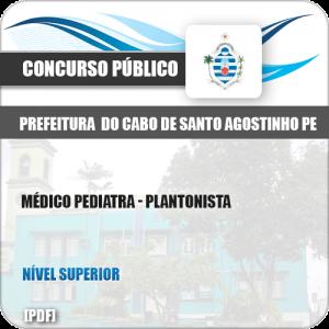 Apostila Pref Cabo Santo Agostinho PE 2019 Médico Pediatra
