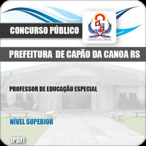 Apostila Pref Capão da Canoa RS 2019 Prof Educação Especial