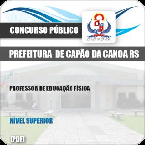 Apostila Pref Capão da Canoa RS 2019 Prof Educação Física