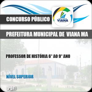 Apostila Concurso Pref de Viana MA 2019 Professor de História