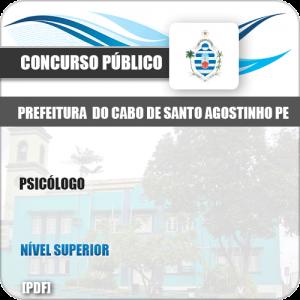Apostila Pref Cabo de Santo Agostinho PE 2019 Psicólogo