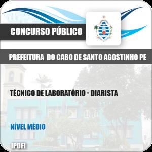 Apostila Cabo Santo Agostinho PE 2019 Técnico de Laboratório