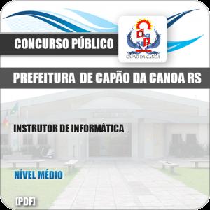 Apostila Pref Capão da Canoa RS 2019 Instrutor de Informática