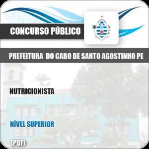 Apostila Pref Cabo de Santo Agostinho PE 2019 Nutricionista
