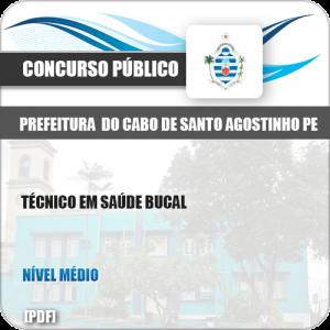 Apostila Cabo Santo Agostinho PE 2019 Técnico em Saúde Bucal