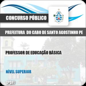 Apostila Cabo de Santo Agostinho PE 2019 Prof Educação Básica