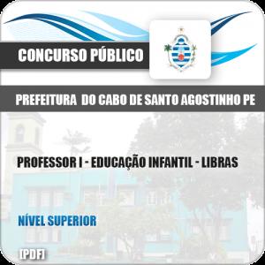 Apostila Cabo de Santo Agostinho PE 2019 Prof I Infantil Libras