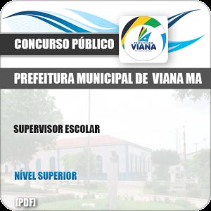 Apostila Concurso Pref de Viana MA 2019 Supervisor Escolar