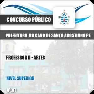 Apostila Cabo de Santo Agostinho PE 2019 Professor II Artes