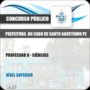 Apostila Cabo de Santo Agostinho PE 2019 Professor II Ciências