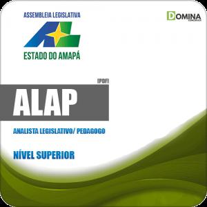 Apostila Concurso ALAP 2019 Analista Legislativo Pedagogo