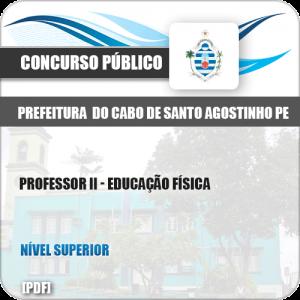 Apostila Cabo de Santo Agostinho PE 2019 Prof II Educação Física