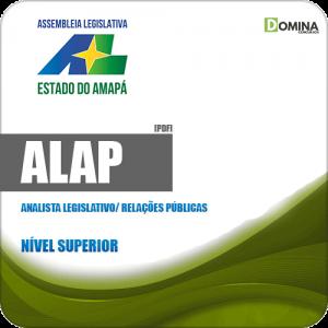 Apostila Concurso ALAP 2019 Analista Legislativo Relações Públicas