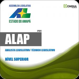 Apostila Concurso ALAP 2019 Analista Legislativo Técnico Legislativo
