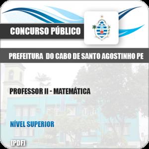Apostila Cabo Santo Agostinho PE 2019 Professor II Matemática