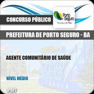 Apostila Pref Porto Seguro BA 2019 Agente Comunitário de Saúde