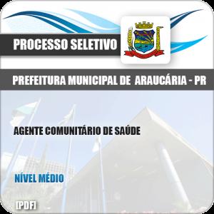 Apostila Seletivo Pref Araucária PR 2019 Agt Comunitário Saúde