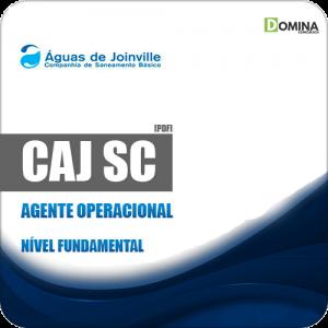 Apostila Concurso CAJ Joinville SC 2019 Agente Operacional