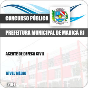 Apostila Concurso Pref Maricá RJ 2019 Agente de Defesa Civil