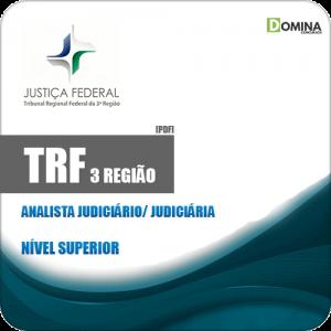 Apostila TRF 3 Região 2019 Analista Judiciário Judiciária