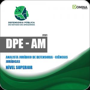 Apostila DPE AM 2019 Analista Jurídico de Defensoria Ciências