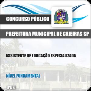 Apostila Pref Caieiras SP 2019 Assistente de Educação Especializada