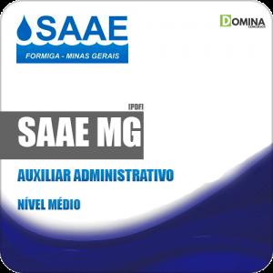 Apostila Concurso SAAE Formiga MG 2019 Auxiliar Administrativo