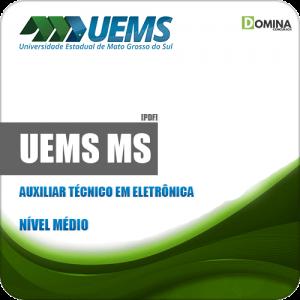 Apostila Concurso UEMS 2019 Auxiliar Técnico em Eletrônica