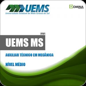 Apostila Concurso UEMS 2019 Auxiliar Técnico em Mecânica