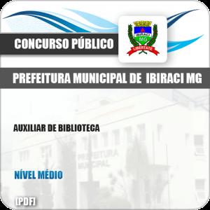 Apostila Concurso Pref Ibiraci MG 2019 Auxiliar de Biblioteca