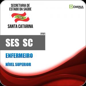 Apostila Processo Seletivo SES SC 2019 Enfermeiro