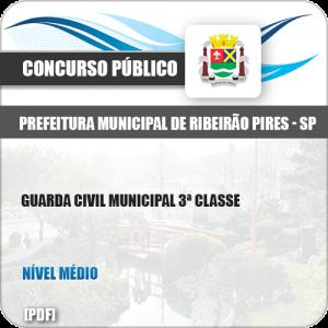 Apostila Pref Ribeirão Pires SP 2019 Guarda Civil 3ª Classe