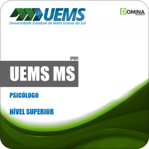 Apostila Concurso Público UEMS 2019 Psicólogo