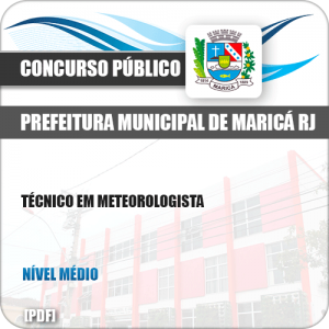 Apostila Concurso Pref Maricá RJ 2019 Técnico Meteorologista
