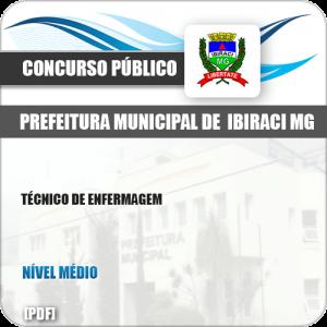 Apostila Concurso Pref Ibiraci MG 2019 Técnico de Enfermagem