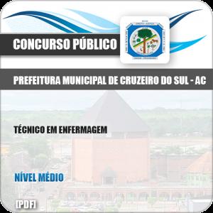 Apostila Pref Cruzeiro do Sul AC 2019 Técnico em Enfermagem
