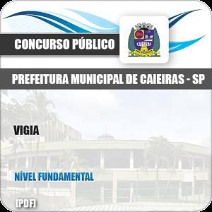 Apostila Concurso Público Pref Caieiras SP 2019 Vigia