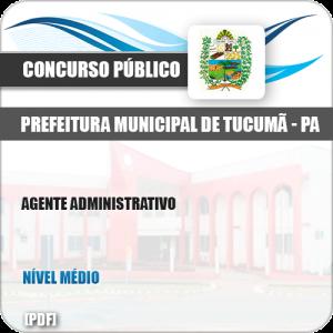 Apostila Concurso Pref Tucumã PA 2019 Agente Administrativo