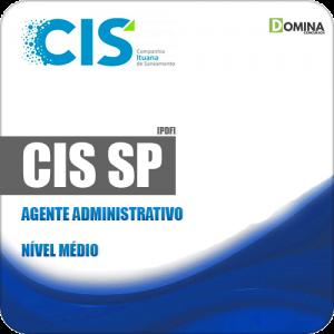 Apostila Concurso Público CIS 2019 Agente Administrativo