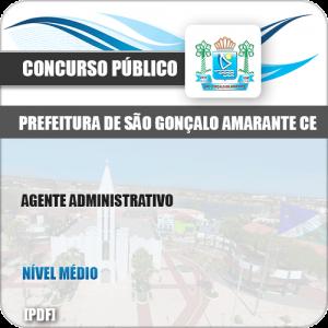 Apostila São Gonçalo Amarante CE 2019 Agente Administrativo