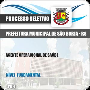 Apostila Pref São Borja RS 2019 Agente Operacional de Saúde